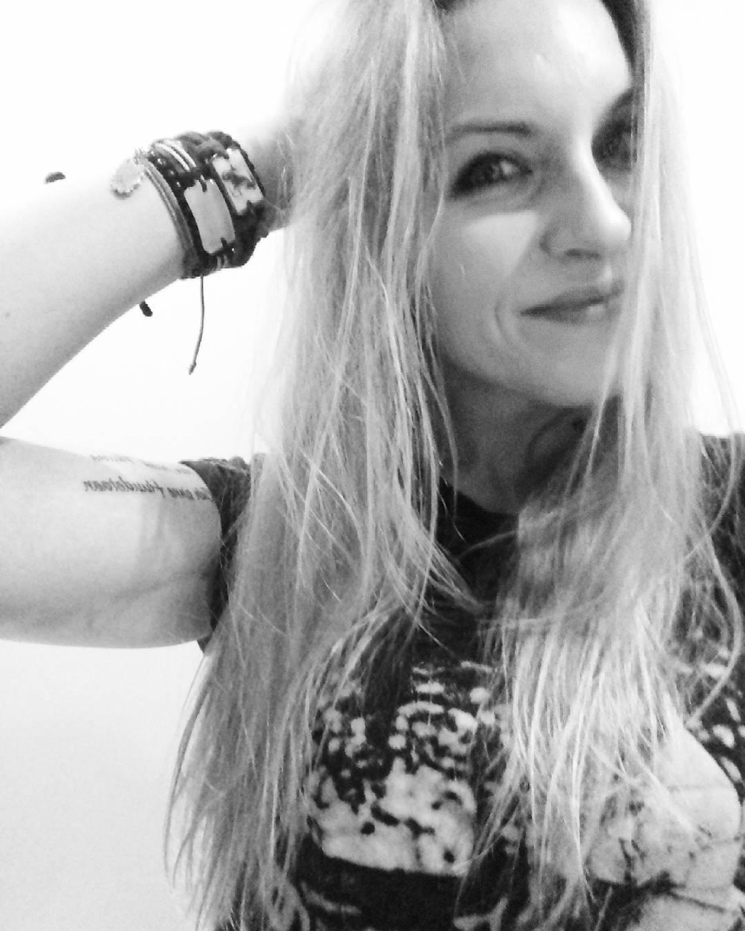 #rocker #grunge #rock #szogun #metalhead #tatuaż #tattoo #tattoedgirl #inked #blondegirl #blondynka #polishgirl #trash #capricorn
